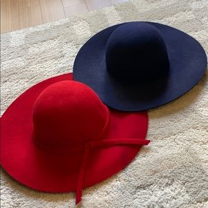 Accessories - Floppy Wool Hats (sold together as a pair)